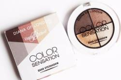 Diana of London Color Sensation Quad Eyeshadow Review