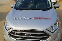 Ford Ecosport 4WD spotted - Will it come to India?
