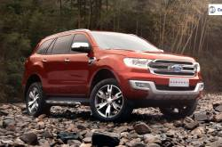 Ford Endeavour Facelift Might Launch In February 2019