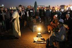 global travel shot: uninterrupted storytelling in morocco's 1,000-year-old square