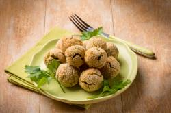 High Protein Spinach & Soy Bites Recipe