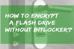 How to Encrypt a Flash Drive Without Bitlocker?