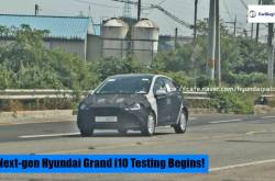 Hyundai Grand I10 Hatchback Next-generation Iteration Testing Begins