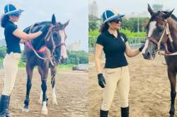 Kangana Ranaut Reveals Difference In Human Affection & Animal Love As She Spends Time With Her Horse; PICS