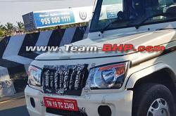 Mahindra Bolero BS6 Spotted On Test | MotorBeam
