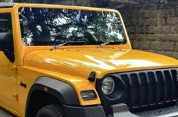 Mahindra Thar Paint Options Not Satisfactory? How About Going Yellow?