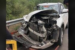 Maruti Vitara Brezza Goes Through A High-Speed Crash - See The Impact