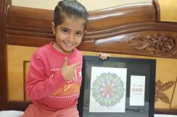 Mukta Basandani talks on her five year old Kamakshi's Mandala pursuits