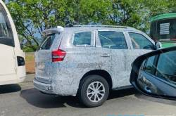 New Gen Mahindra Scorpio Spied - Look At Those Tail Lights