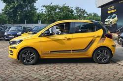 New Tata Tiago Soccer Edition Spotted At Dealership!