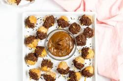 Nutella Donut Acorns (Kid-Friendly) |The Picky Eater