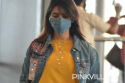 PHOTOS: Samantha Akkineni Is Papped At The Airport As She Heads To Mumbai For The Family Man 2 Promotions
