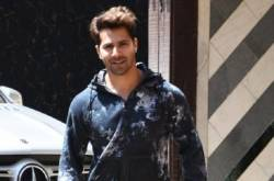 Photos: Varun Dhawan Looks 'First Class' Flashing His Million Dollar Smile As He Hits The Gym