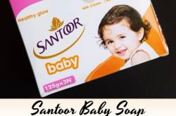 Santoor Baby Soap Review