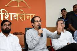 Shiv Sena Chief Uddhav Thackeray Addresses A Press Conference | SaveDelete