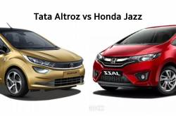 Tata Altroz Vs Honda Jazz - Specifications Comparison
