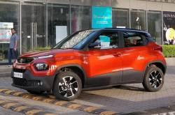 Tata Punch Interior Spied, To Get Orange Exterior Colour Too