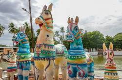 The Terracotta Horse Temple - The Ayyanar Temple Of Chettinad - Thrilling Travel