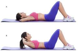 Try Out These 3 Exercises To Get A Flat Tummy In A Few Weeks - Find Health Tips