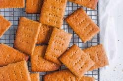 Vegan Graham Cracker Recipe (Healthy, No Honey!)