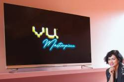 Vu Masterpiece TV Unveiled in India for Rs 350000
