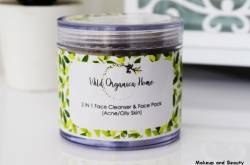 Wild Organica Home 2 In 1 Face Cleanser And Face Pack Review