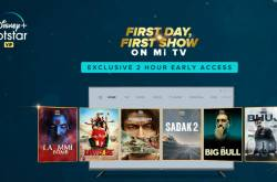 Xiaomi Mi TV Users To Get Early Pass For Watching Movies On Disney+ Hotstar