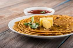 Zucchini Paratha Recipe