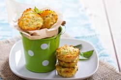 Zucchini & Red Pepper Muffin Recipe